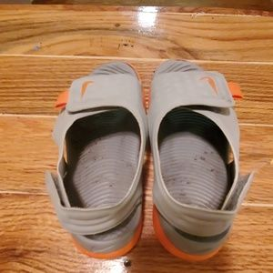 Nike sandles size 12c used condition